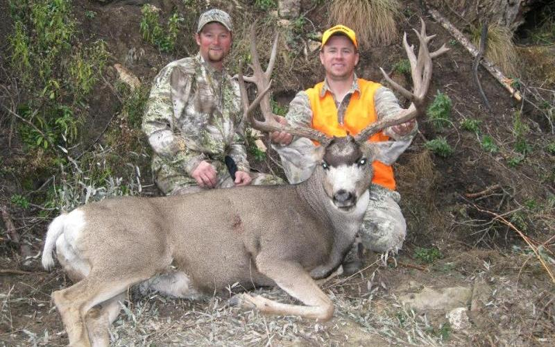 This 209-inch mule deer came in Colorado with a rifle. (Courtesy Ridge Reaper)