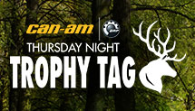 Can-Am Thursday Night Trophy Tag